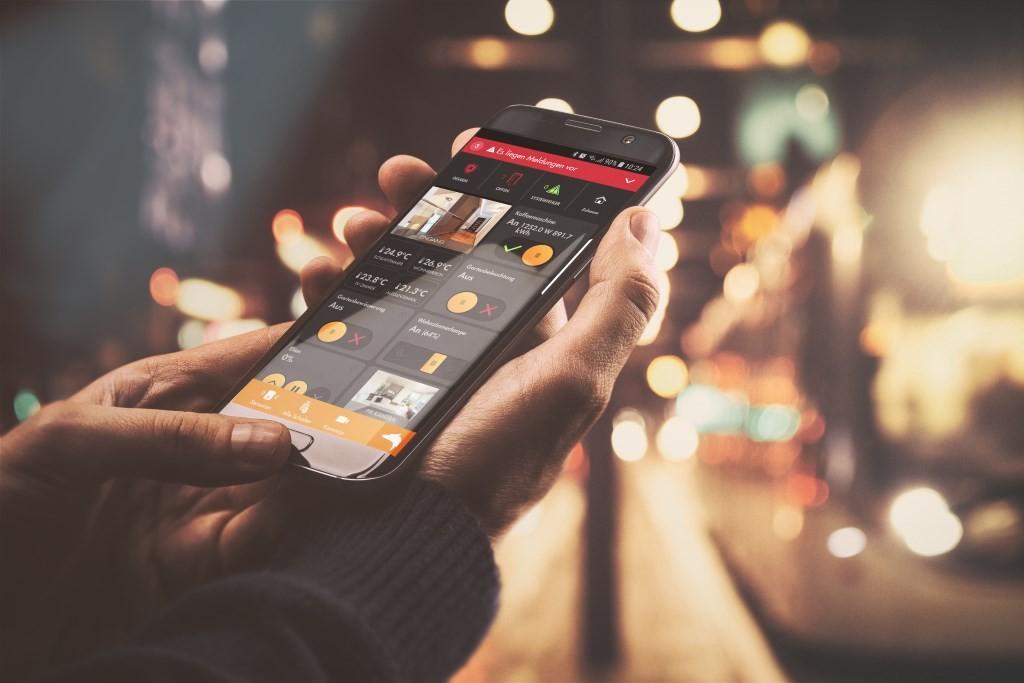 Produktvorstellung Neue App zu Steuerung der LUPUS-Systeme - News, Bild 1