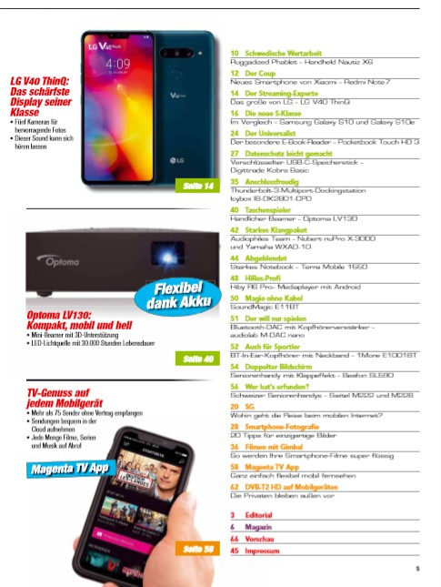 5G: Wohin geht die Reise beim mobilen Internet - Magenta TV App im Test - DVB-T2 HD mobil - Bild 3