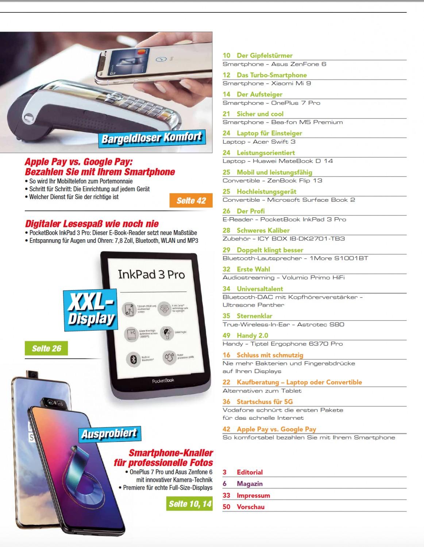Produktvorstellung Alles zum Start von 5G - Smartphone-Knaller für super Fotos - Apple Pay vs. Google Pay - News, Bild 3