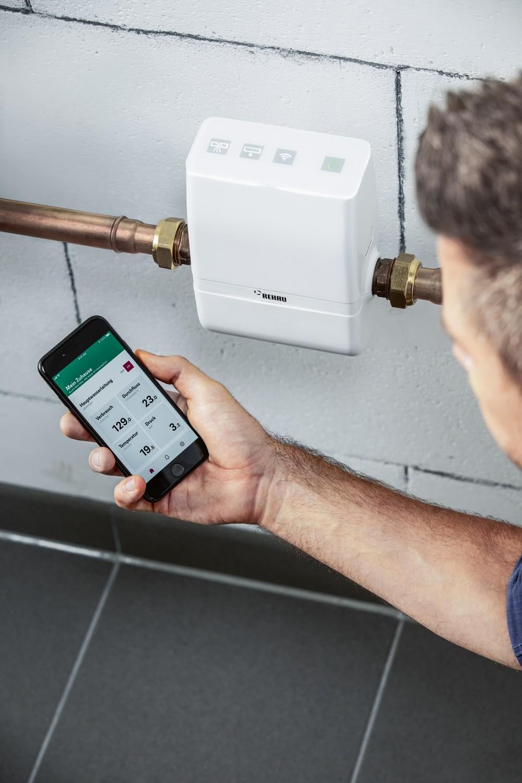 Produktvorstellung Schluss mit Wasserschäden: Smartes Kontrollsystem warnt per Smartphone - News, Bild 1