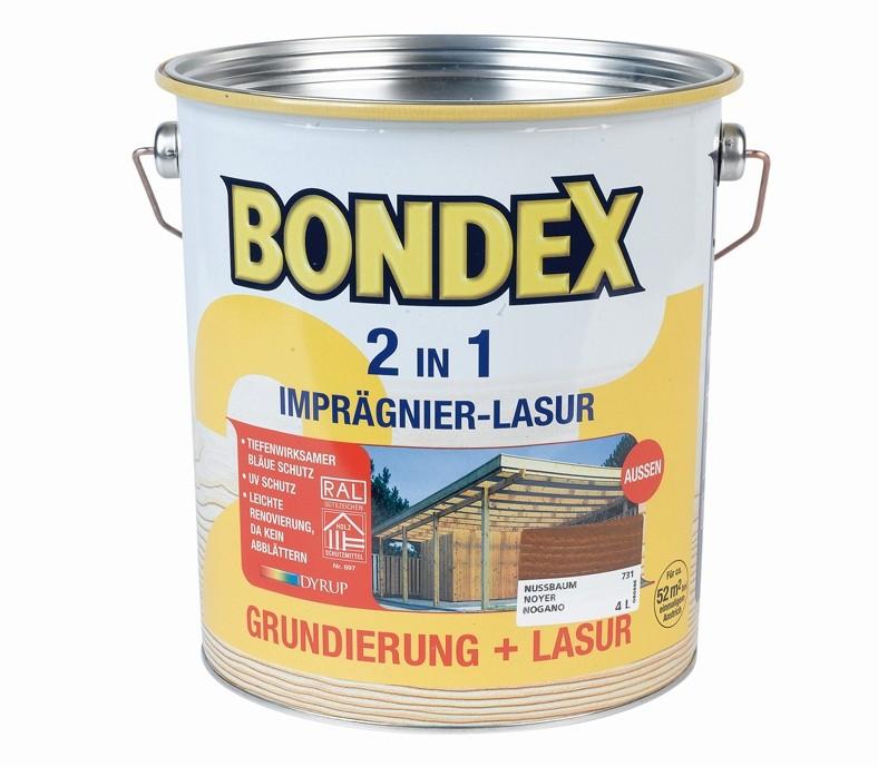 test lacke und lasuren bondex 2 in 1 holzschutzlasur sehr gut. Black Bedroom Furniture Sets. Home Design Ideas