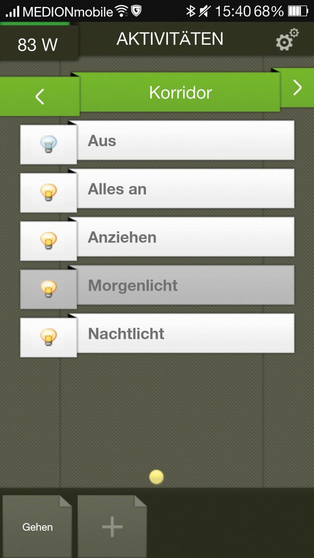 Komplettsysteme (Smart Home) digitalSTROM, tado App, digitalSTROM dS Home Control im Test , Bild 6