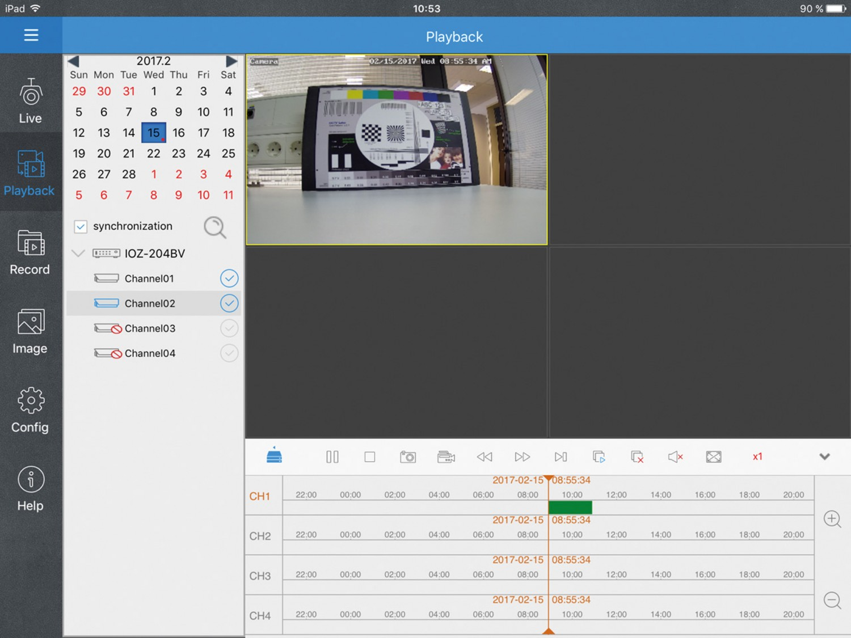 Netzwerkkamera Monacor IOZ-204DV im Test, Bild 2