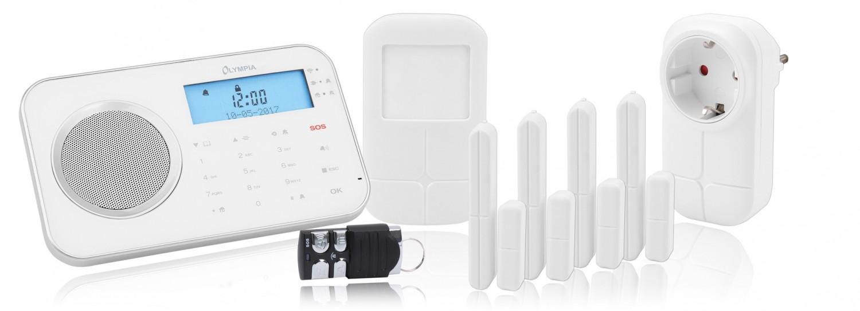 Smart Home Alarmanlage Olympia ProHome 8762 im Test, Bild 1