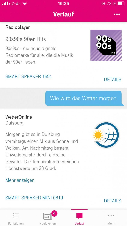 Smart Home Lautsprecher Telekom Smart Speaker, Telekom Smart Speaker Mini im Test , Bild 5