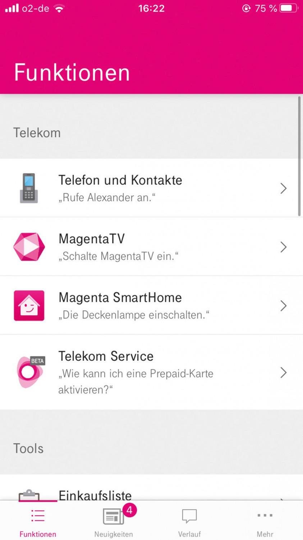Smart Home Lautsprecher Telekom Smart Speaker, Telekom Smart Speaker Mini im Test , Bild 6